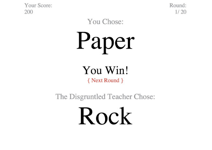Rock, Paper, Volcano 1