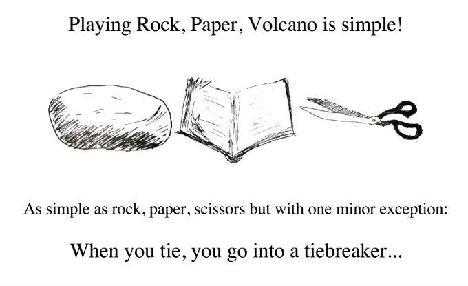 Rock, Paper, Volcano 2